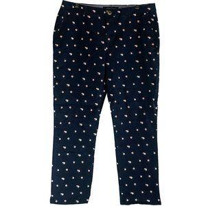 Tommy Hilfiger flower chino pants 14 EUC